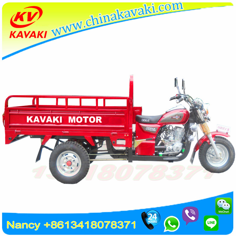 Chinese Factory manufacture150cc Engine 1.2*1.7 carriage petrol three wheeler motor