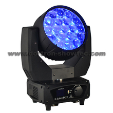LED Moving Head Wash Zoom 19X15W RGBW 4in1