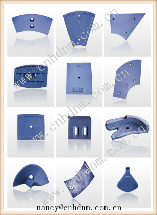 wear-resisting alloy crusher hammer/plate hammer/hammer head