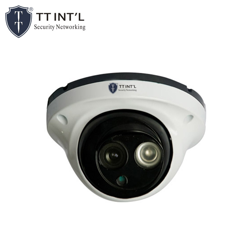 "1/2.7"" 1.3MP Array AHD Metal IR Dome CCTV Camera With OSD Function"