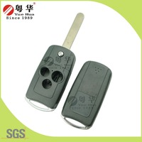 Buttons Folding Smartkey motorcycles and automobile Key Blanks Wholesale From China Car Accessories