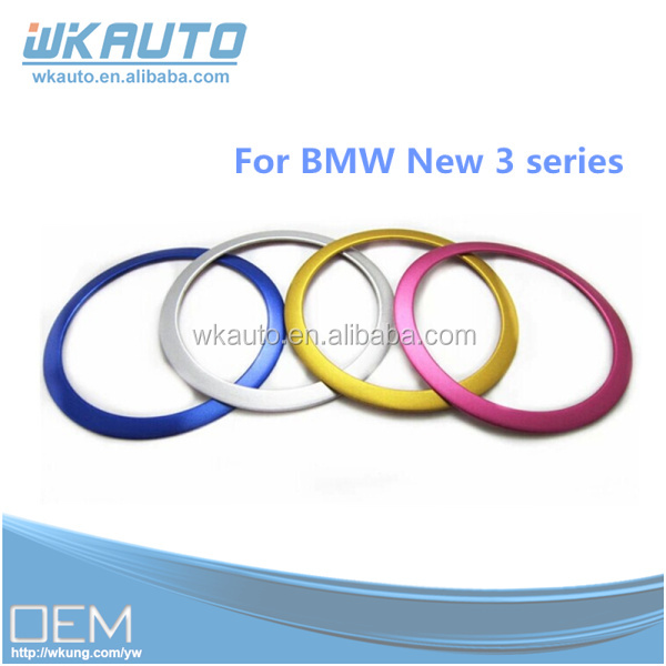high quality aluminum the new 3 Series F30 320LI 316 car Speaker decorative circle ring