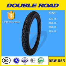 Qingdao factory solid rubber motorcycle tire 300-18 wholesale