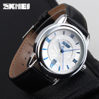 Good quality products top brand genuine leather watch in low price