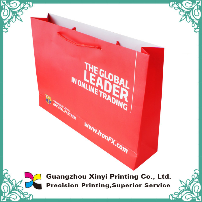 China factory good quality fashion printed custom made shopping bags
