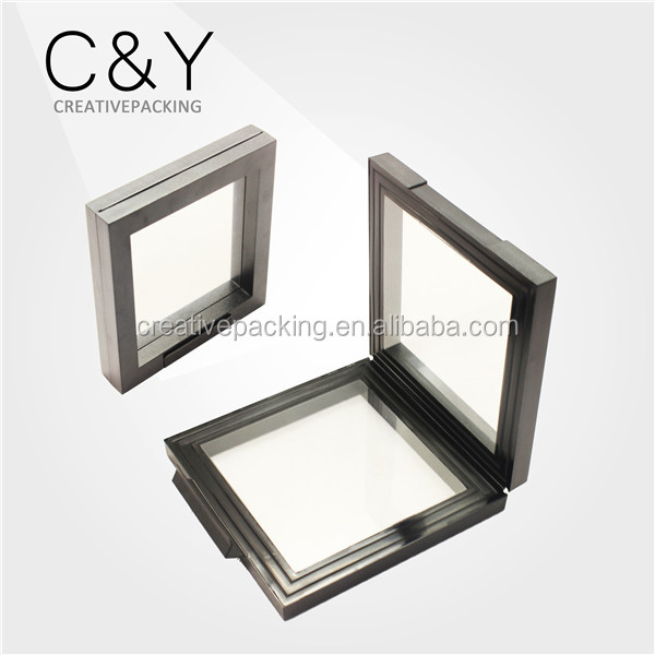 Window Design Acrylic Jewelry Display Box