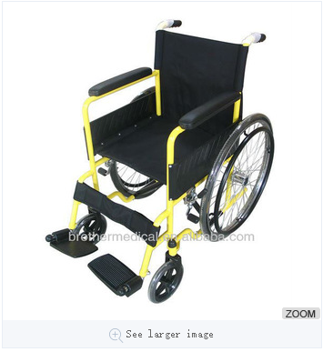 The lowest price!!! Basic Wheelchair BME4611B from China