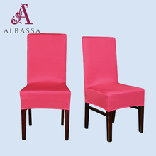 wholesale Hotel plain spandex chair cover contracted small seat cover for home banquet
