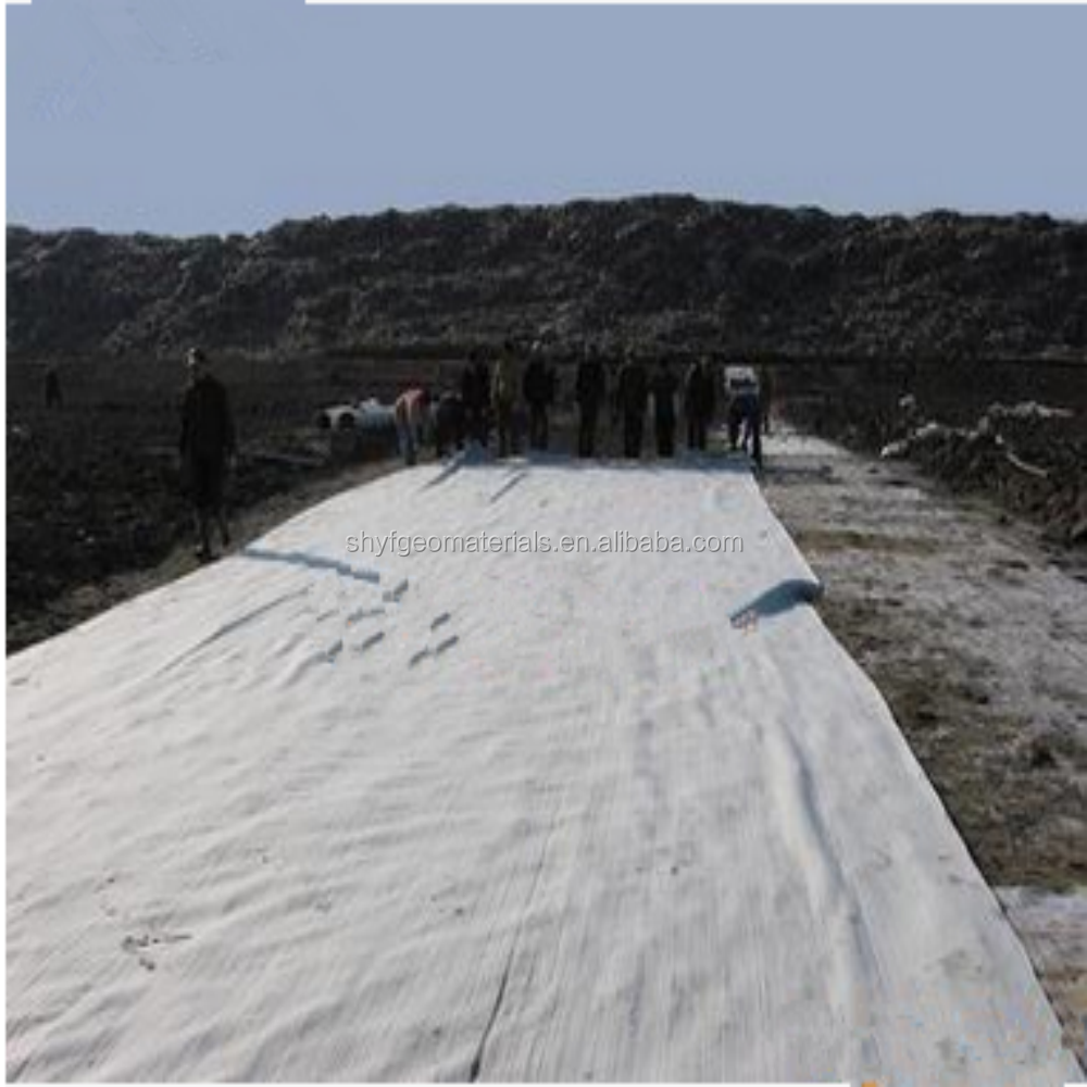 Yingfan 600GSM Non Woven Geotextile for Slope Protection