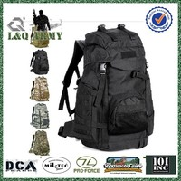 60L Tactical Military Backpack Men Camouflage Travel bag