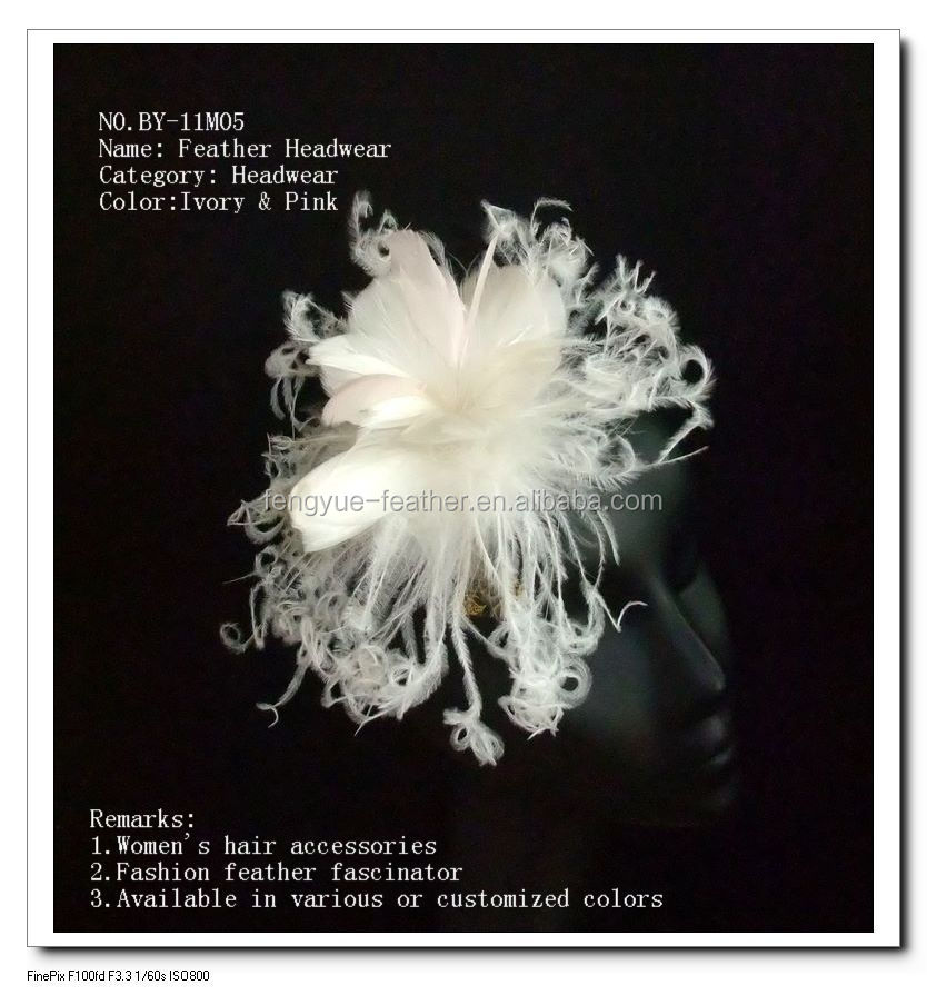 Feather mount/feather fascinator/Feather Headpiece
