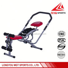 2016 New Fashion six pack care six power gym abdominal exercise fitness machine