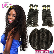 XBL Black Women Factory Wholesale Price Top Quality Deep Wave Remy Hair Closure