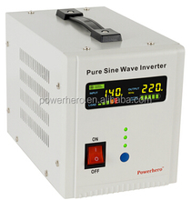 300W low frequency pure sine wave inverter UPS with charger