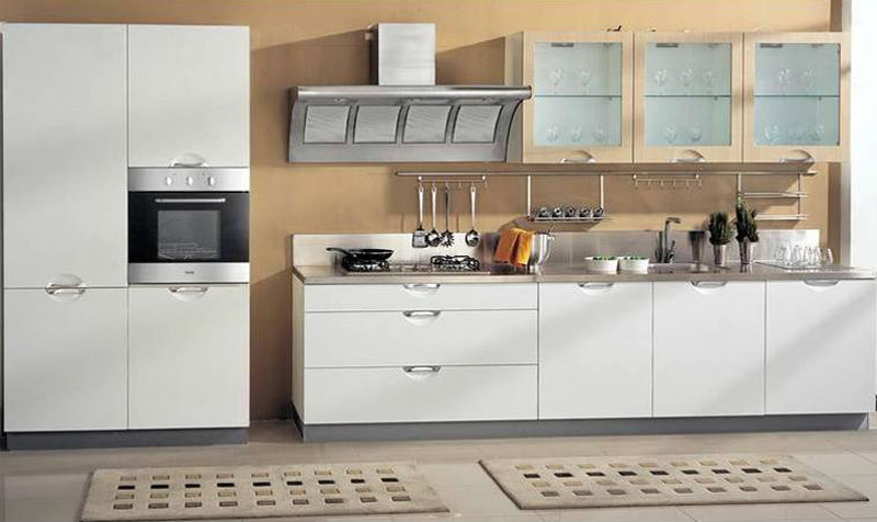 China made lacquer kitchen cabinets-kitchen kitchen furniture in Foshan
