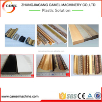Plastic photo frame production line/ps frame making machine/ps foamed profile