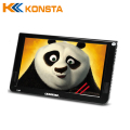 USB player portable VGA PC monitor built-in battery 10 inch portable handheld lcd TV with AV, VGA Input with AC adaptor DC