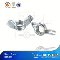 BAOSTEP Specialized Ts16949 Certified Auto Parts Manufacturer Wing Nut Dimensions