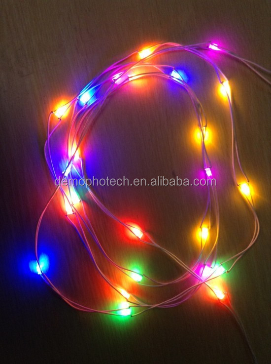 Prewired Multicolor Hula Hoop Strings