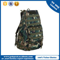 BSCI audit factory teenage camo backpack, wholesale trendy military bag for school