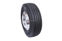 Truck and bus all steel tubeless radial tyre for long haul