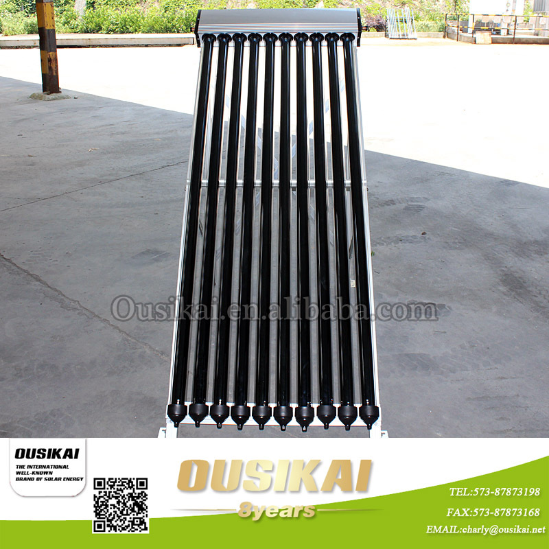 Vacuum tubes solar Collector with heat pipe for split solar water heater