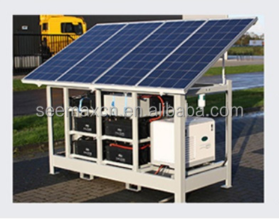 DC to AC OGSP7000W 7 kW Solar <strong>Electricity</strong> Generating System For Home Off Grid Solar System