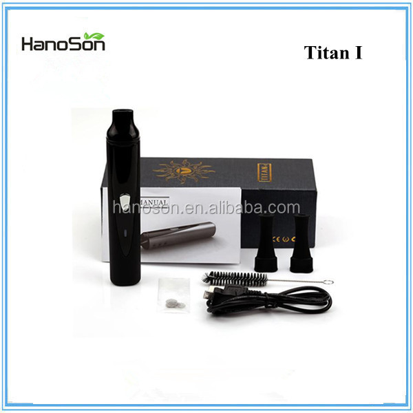 Wholesale China electronic cigarette dry herb Titan I vaporizer, starter kit Titan vape burning tobacco