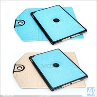 2015 Unique design Newest Smart Tablet Leather Case Cover For Ipad 6 Ipad Air 2 360 Degree Rotating Leather Case