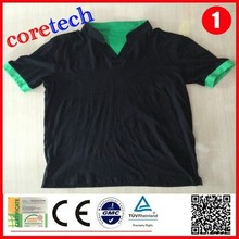 Hot sale breathable v-neck t-shirts mens factory