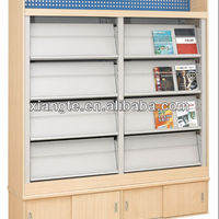 China Hot Selling Library Book Rack