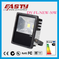 2013 New Model hot sale in 2014 ASA Material Waterproof IP65 AC85 to AC 265V 50W New LED Floodlight,black body 50w outdoorlight