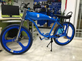 All Blue Color, DIY Super 3.75L Gas Frame Motorized Bicycle Super Gt-2b, Cdh China Producing