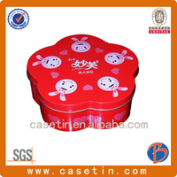 different shape fashion biscuit tin