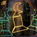Christmas lights outdoor decorations LED nativity lights