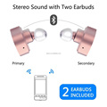 tws-k3 in ear earphone, wireless stereo sport earphone, truly wireless sport earphone tws