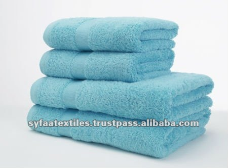 Five Star Linen Terry Turquoise Towel Set
