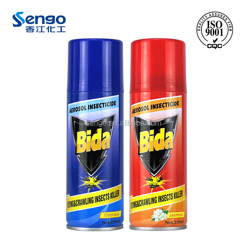 household indoor use aerosol insecticide with effective fast kill