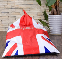 Unique National Flag Print Big Pillow Bean Bag Chair
