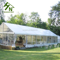 China Tent Supplier Clear Span White Marquee For 300 People Wedding And Party