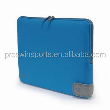 Factory price neoprene computer case with double zipper
