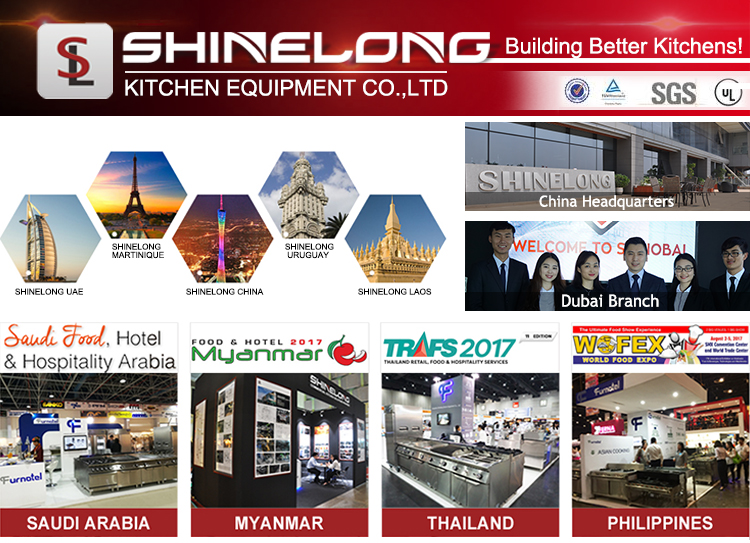 Shinelong High Quality Restaurant K624 Freestanding Electric Bread Oven
