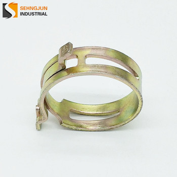 American Type low price spring metal tightener rope clamp