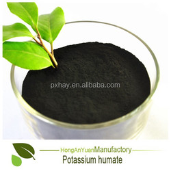 Pingxiang HAY factory agriculture fertilizer humate Potassium Humate Stimulates Plant Enzymes