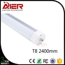 CE RoHS approved 2400mm FA8 tube led t8 tub8