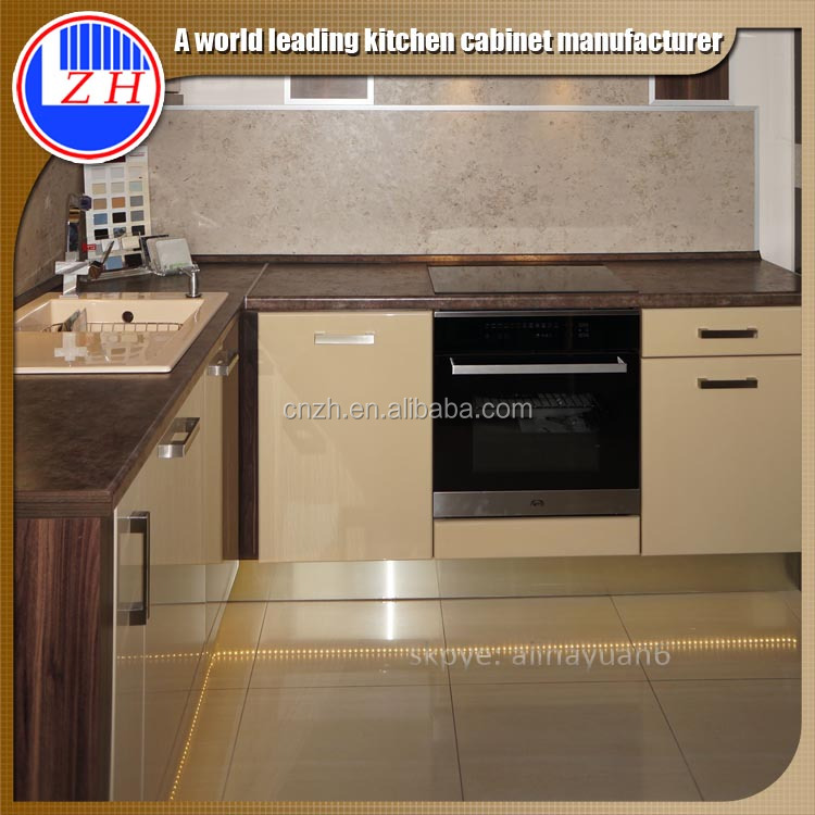 Zhihua high glossy acrylic cheap price america design for Acrylic kitchen cabinets cost