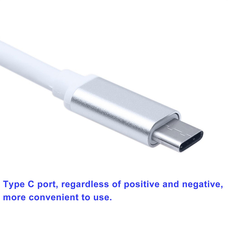 New 3 in 1 Type C to HD Converter USB3.0 Hub USB-C Charging Adapter Converter for MacBook TV Metal