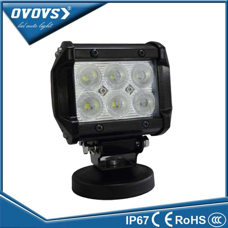 Ovovs wholesale price 12volt auto motorcycle 18w led light bars off road lights