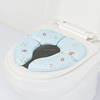 Family goods baby soft trainer toilet seat portable & foldable toilet seat