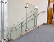 2017 stainless steel staircases handrails design